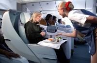 エミレーツ航空 ビジネスクラス シートイメージ
